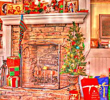 The stocking was hung by the chimney with care..... by Chelei