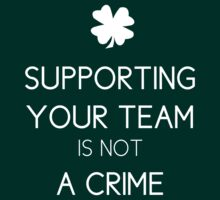 Supporting Your Team is not A Crime by Vagelis Georgariou