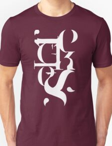 Typography Reckless T-Shirt