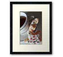 Christmas Tea Framed Print