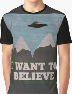 X-Files Twin Peaks mashup Graphic T-Shirt