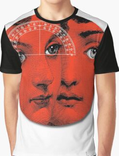 Lady Faces (Red) Graphic T-Shirt