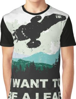 I Want To Be A Leaf (Serenity & The X-Files) Graphic T-Shirt