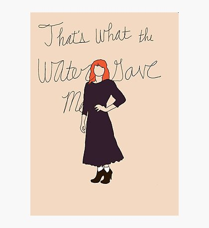 Florence Welch Portrait Photographic Print