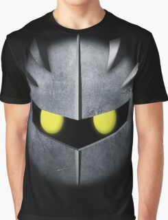 Meta Knight Mask Graphic T-Shirt