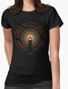 The Rings of Power Womens Fitted T-Shirt