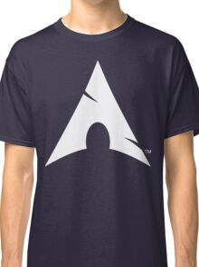 Big-A Arch Linux White Classic T-Shirt