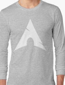 Big-A Arch Linux White Long Sleeve T-Shirt