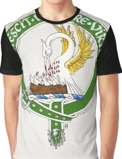 Clan Stewart Scottish Crest Graphic T-Shirt