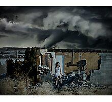Storm Girl Photographic Print