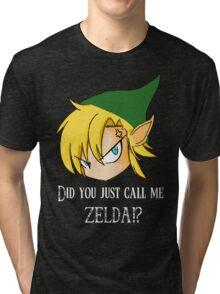 The Legend of Zelda The big mistake Tri-blend T-Shirt