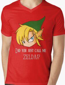 The Legend of Zelda The big mistake Mens V-Neck T-Shirt
