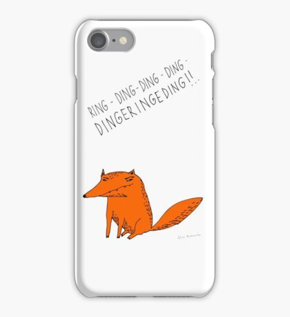 What does the fox say??? iPhone Case/Skin