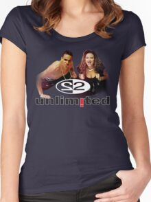 2 Unlimited Women's Fitted Scoop T-Shirt
