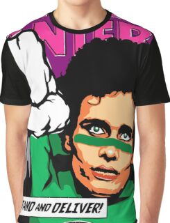 Post-Punk Super Friends - Green Graphic T-Shirt
