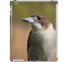 fence bird iPad Case/Skin