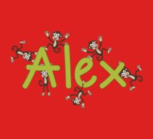 alex w monkeys Kids Clothes