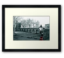 within the Tower of London Framed Print