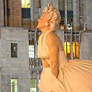 Marilyn in Chicago 4 by Polly Greathouse