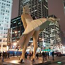Marilyn in Chicago Uber Kitsch 5 by Polly Greathouse