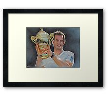 Andy Murray 2 Framed Print