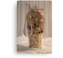 Treasures From The Sea In A Vase! Canvas Print