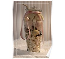 Treasures From The Sea In A Vase! Poster
