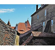 Old Walls New Tiles Photographic Print
