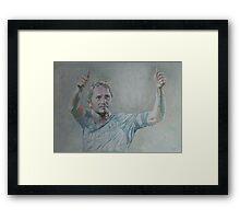 Frank Lampard - Portrait 1 Framed Print
