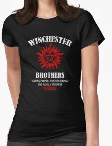 Winchester Brothers Womens Fitted T-Shirt