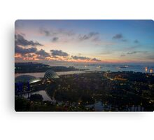Singapore Ocean View Canvas Print