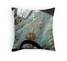 Shattered dreams, Bronx - New York City  Throw Pillow