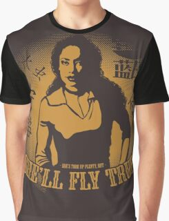 She'll Fly True Graphic T-Shirt
