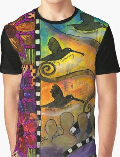 Softly Humming  Graphic T-Shirt