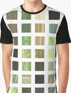 Cactus Garden Abstract Rectangles 2 Graphic T-Shirt
