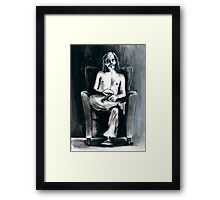 The Clown Who Wasn't Funny Framed Print