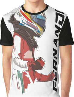 Fernando Alonso Graphic T-Shirt