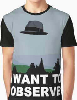 I Want to Observe Graphic T-Shirt