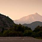 View from the beach in Çıralı, Turkey by David Isaacson