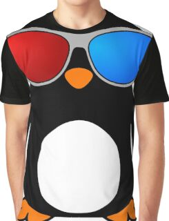Swaggy Penguin Graphic T-Shirt