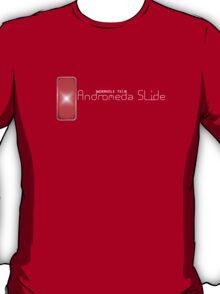 Andromeda Slide - Wormhole Tech (white) T-Shirt