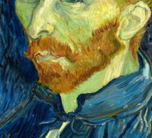 Vincent Van Gogh - Self Portrait Sticker