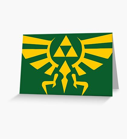 Crest Of Hyrule Greeting Card