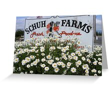 Farm stand  - Whidbey Island Greeting Card