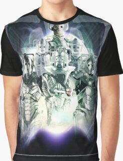 Evolution of the Cybermen Graphic T-Shirt