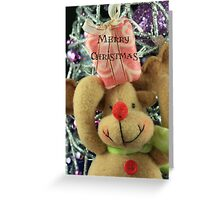 Christmas Wishes - Rudolph Greeting Card