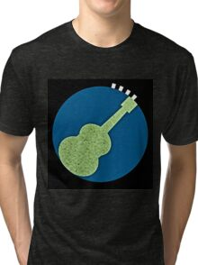 Earth Guitar - sounds of the Universe Tri-blend T-Shirt