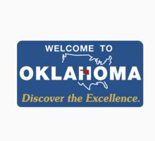 Welcome to Oklahoma, Road Sign, USA  One Piece - Long Sleeve