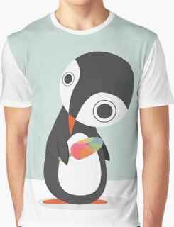 Pingu Loves Icecream Graphic T-Shirt