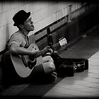 Musician with a Hat by Andrew Wilson